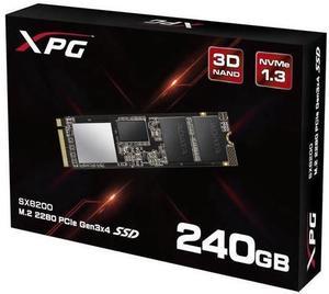 XPG SX8200 PCIe NVMe M.2 2280 240GB SSD