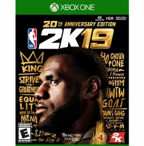 NBA 2K19 20th Anniversary Edition (Xbox One Download) - Gold Required
