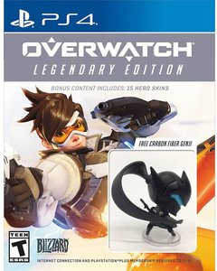 Overwatch Legendary Edition (PS4) + Genji Figurine