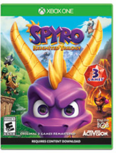 Spyro Reignited Trilogy (Xbox One Download) - Gold Required