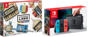 Nintendo Switch (Gray Joy-Con) + $25 Gift Card