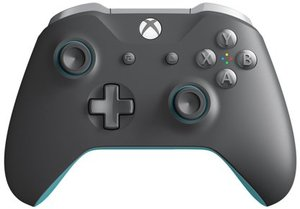 Xbox One Wireless Controller (Gray/Blue)