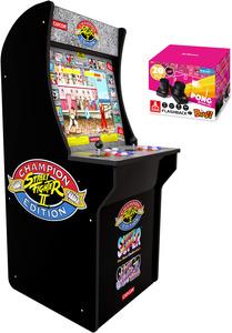 Arcade1Up: Street Fighter 2 Arcade Cabinet Machine (4 ft.)
