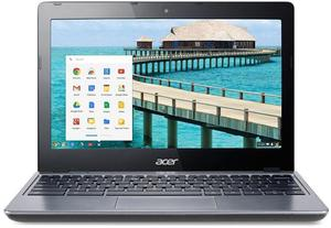 Acer C720P Chromebook Celeron 2955U, 4GB RAM, 16GB SSD (Refurbished)