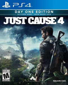 Just Cause 4 Day One Steelbook Edition (PS4)