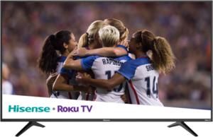 Hisense 65R6E 65-inch 4K HDR Roku Smart TV