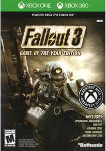 Fallout 3: Game of The Year Edition (Xbox One/Xbox 360)