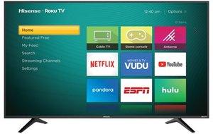 Hisense 60R6E 60-inch 4K HDR Roku Smart LED TV