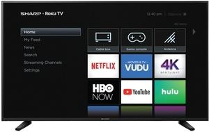 Sharp 58Q7330U 58-inch 4K HDR Roku Smart LED TV