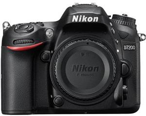 Nikon D7200 DX 24.2MP DSLR Camera Body (Refurbished)