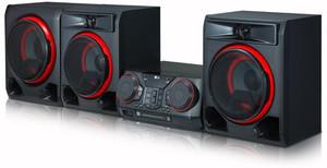 LG CK57 1100W Bluetooth Speaker System with Karaoke Creator