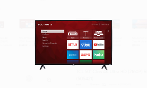 TCL 50S421 50-inch 4K Smart LED TV (Refurbished) - Price in Cart
