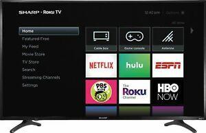 Sharp LC-50LBU711U 50-inch 4K HDR Roku Smart TV