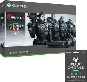Xbox One X 1TB Gears 5 Limited Edition Bundle + Free 1 Month Game Pass Ultimate