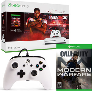 Xbox One S 1TB NBA 2K20 Bundle + Free Anthem