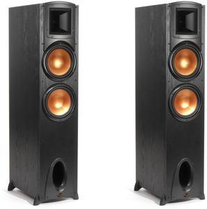 "Klipsch F-300 Synergy Black Label Floorstanding Speaker with Dual 8"" Woofers (Pair)"