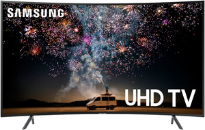 Samsung UN65RU7300 65-inch 4K HDR Curved Smart LED TV