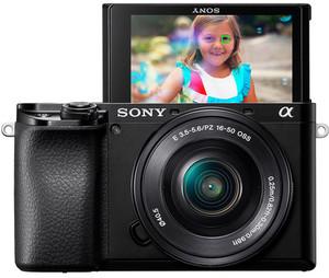 Sony Alpha a6100 Mirrorless Digital Camera with 16-50mm Lens