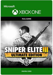 Sniper Elite 3: Ultimate Edition (Xbox One Download)