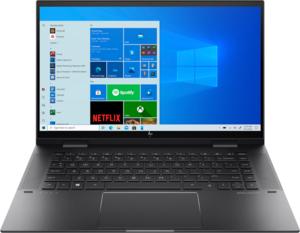 HP Envy x360 15z-eu000, Ryzen 7 5700U, 16GB RAM. 512GB SSD