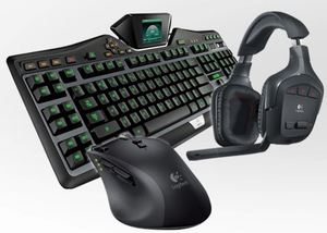 Logitech Ultimate Trio G Series Gaming Combo (G19 Keyboard, G700 Mouse, G930 Headset)