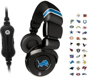 iHip NFL Team Pro DJ Headphones (Choose from 28 teams)